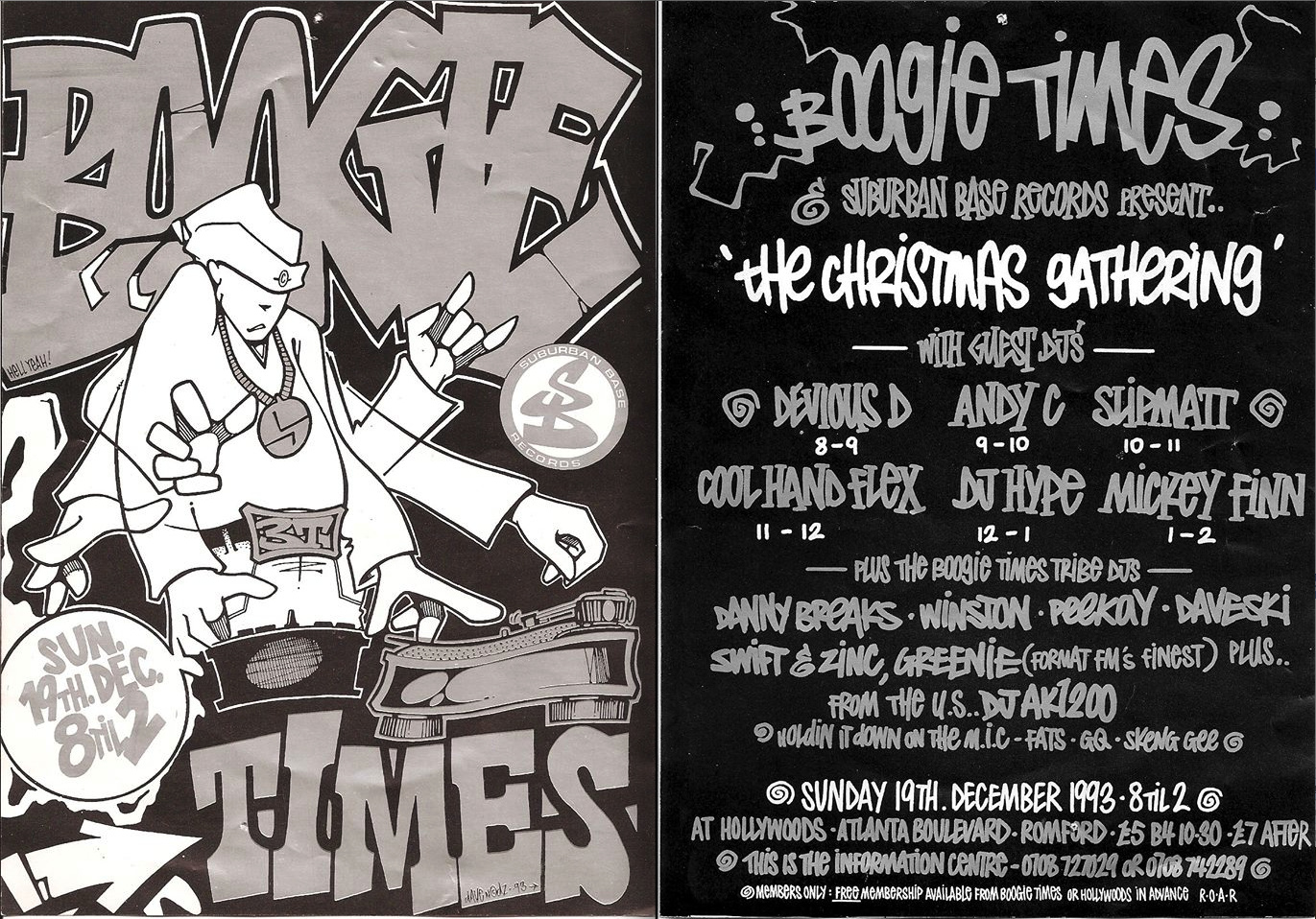 boogie times flyer